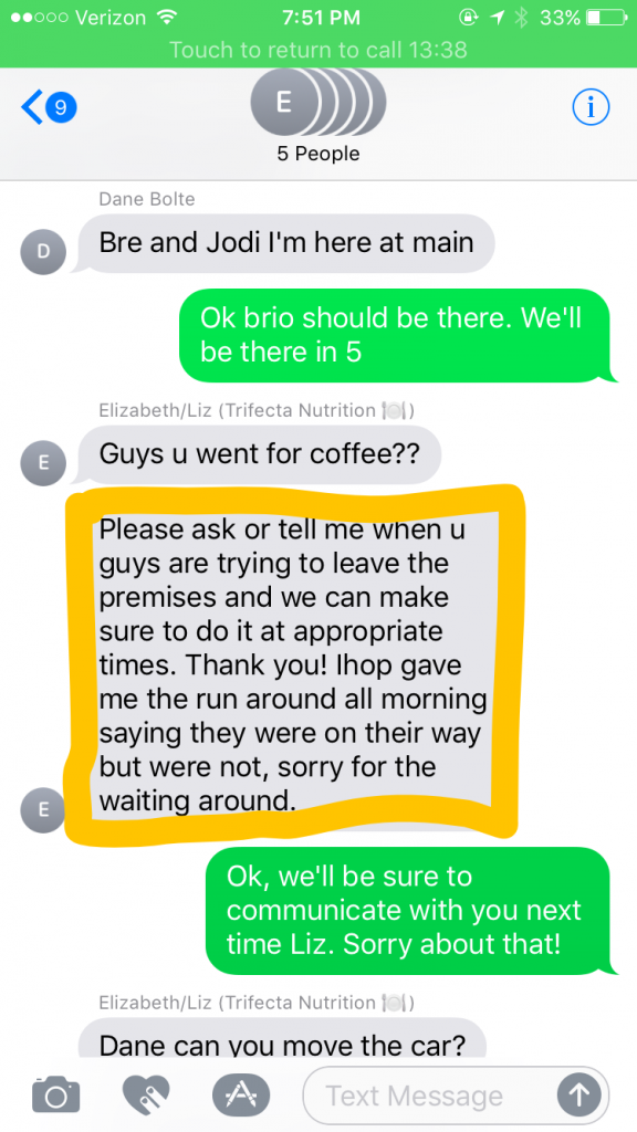 According To Text Messages Trifecta Coordinated With Ihop During 2017 Crossfit Games Morning Chalk Up